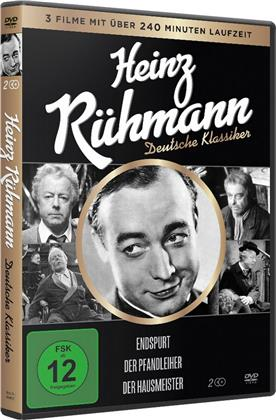 Heinz Rühmann - Deutsche Klassiker - Endspurt / Der Pfandleiher / Der Hausmeister (2 DVDs)