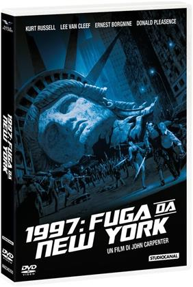 1997: Fuga da New York - (DVD + Calendario 2021) (1981)