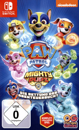 PAW Patrol Mighty Pups - Die Rettung der Abenteuerbucht (German Edition)