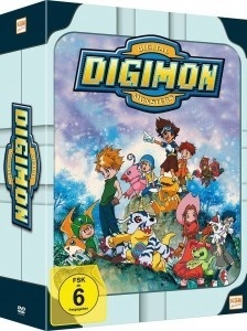 Digimon: Digital Monsters - Adventure - Staffel 1 (Gesamtedition, 9 DVDs)