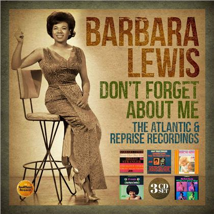 Barbara Lewis - Don't Forget About Me ~ The Atlantic & Reprise Recordings (3 CDs)