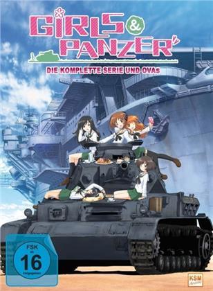 Girls & Panzer - Die komplette Serie + OVA's (4 DVDs)