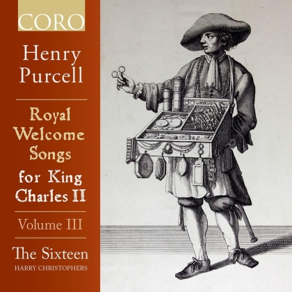 Henry Purcell (1659-1695), Harry Christophers & The Sixteen - Royal Welcome Songs Fro King Charles II - Volume 3