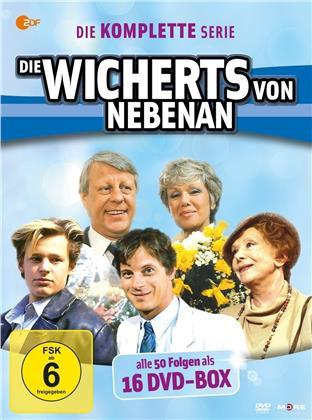 die Wicherts von nebenan - Die komplette Serie (Neuauflage, 16 DVDs)