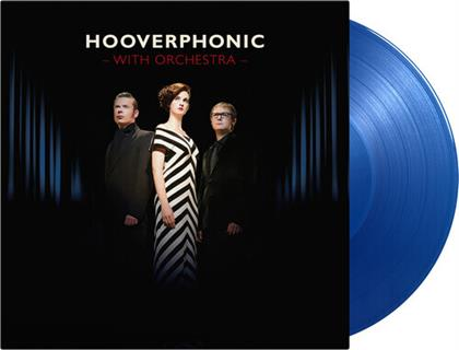 Hooverphonic - With Orchestra (2020 Reissue, Music On Vinyl, Limited Edition, Transparent Blue Vinyl, 2 LPs)