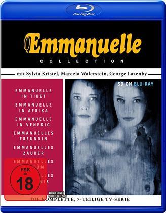 Emmanuelle - Das Orginal Sylvia Kristel - 7 Filme
