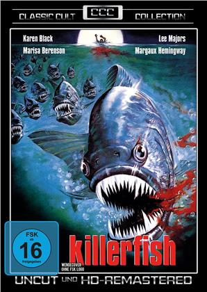 Killerfish (1979) (Classic Cult Collection, Remastered, Uncut)
