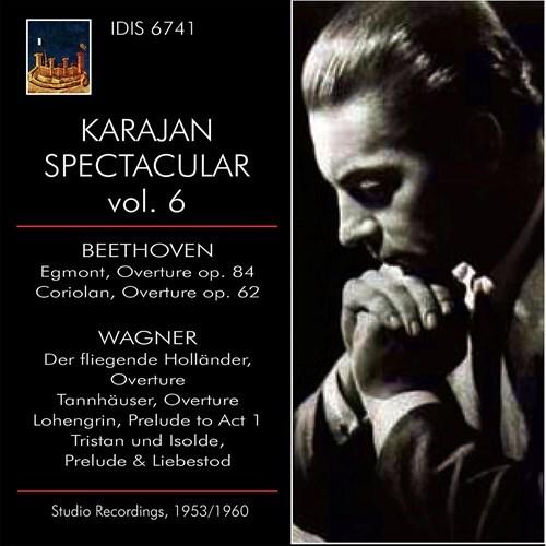 Berliner Philharmoniker, Ludwig van Beethoven (1770-1827), Richard Wagner (1813-1883) & Herbert von Karajan - Karajan Spectaclar 6