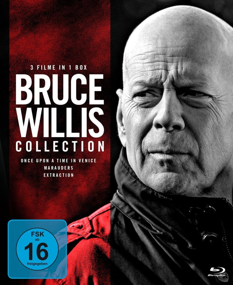 Bruce Willis Collection - Once Upon a Time in Venice / Marauders / Extraction (3 Blu-rays)