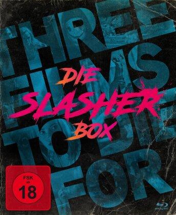 Die Slasher-Box - Three Films To Die For - The Domestics / Lake Bodom / Die letzte Party deines Lebens (3 Blu-rays)