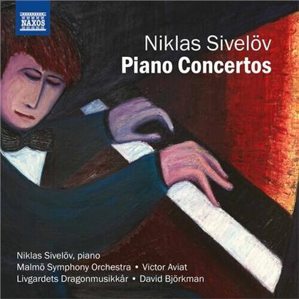Niklas Sivelöv, Victor Aviat, David Björkman, Niklas Sivelöv, Malmö Symphony Orchestra, … - Piano Concertos 1, 2, 5