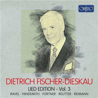 Dietrich Fischer-Dieskau - Lied-Edition 3