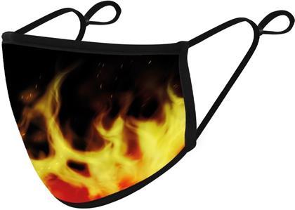 Flames Adjustable Face Mask