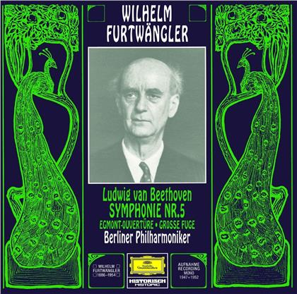 Ludwig van Beethoven (1770-1827), Wilhelm Furtwängler & Berliner Philharmoniker - Symphony 5 / Egmont Overture (Limited, UHQCD, Japan Edition, Remastered)