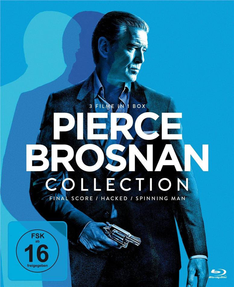 Pierce Brosnan Collection - Final Score / Hacked / Spinning Man (3 Blu-rays)