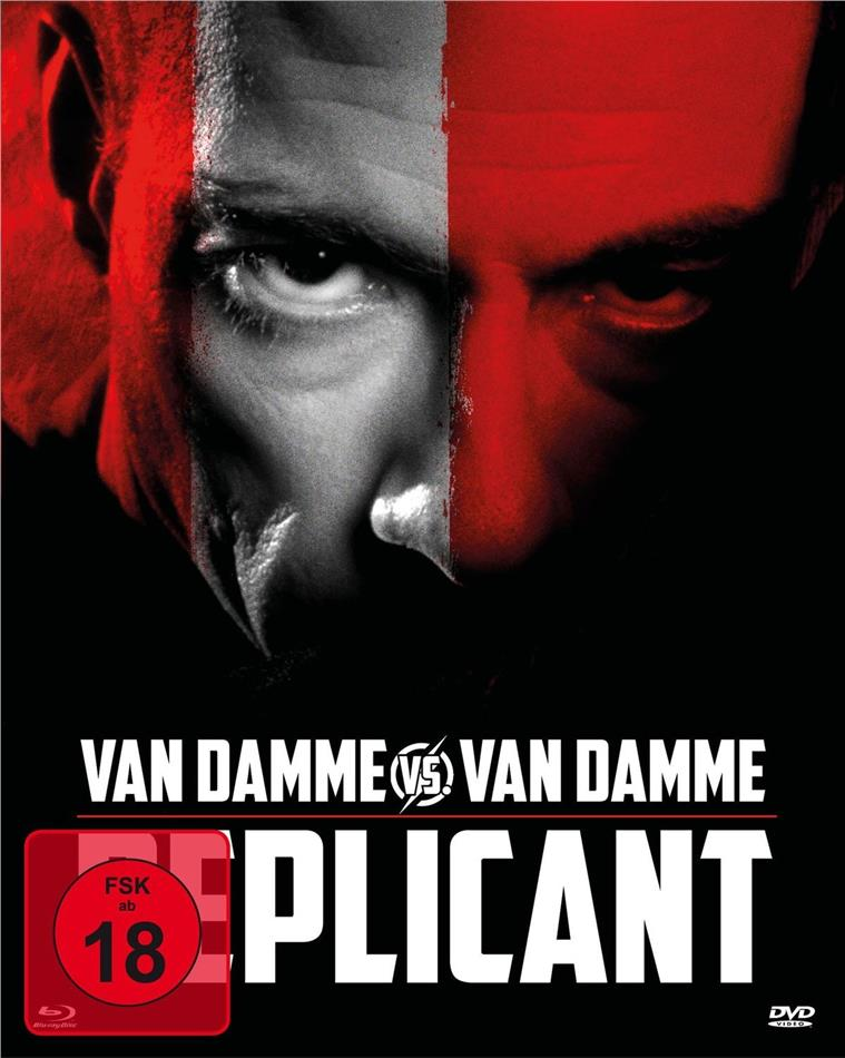 Replicant (2001) (Mediabook, Blu-ray + DVD)