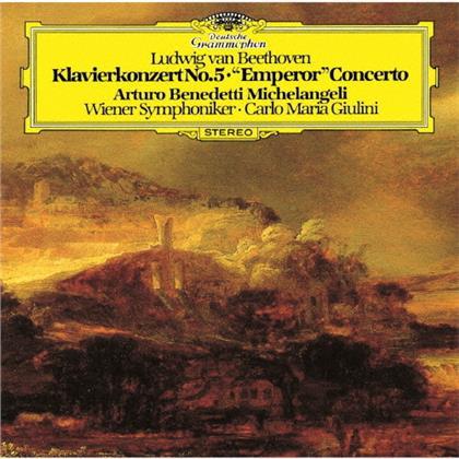 Ludwig van Beethoven (1770-1827), Carlo Maria Giulini, Arturo Benedetti Michelangeli & Wiener Symphoniker - Piano Concerto 5 (UHQCD, Limited, Japan Edition, Remastered)