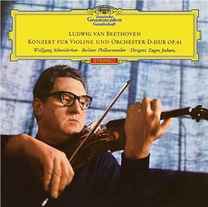 Ludwig van Beethoven (1770-1827), Eugen Jochum, Wolfgang Schneiderhahn & Berliner Philharmoniker - Violin Concerto / Triple Concerto (UHQCD, Limited, Japan Edition, Remastered)