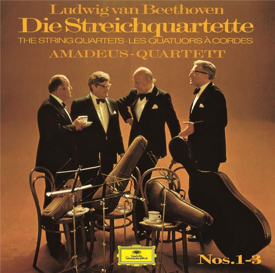Amadeus Quartet & Ludwig van Beethoven (1770-1827) - String Quartets 1-3 (Limited, UHQCD, Japan Edition, Remastered)
