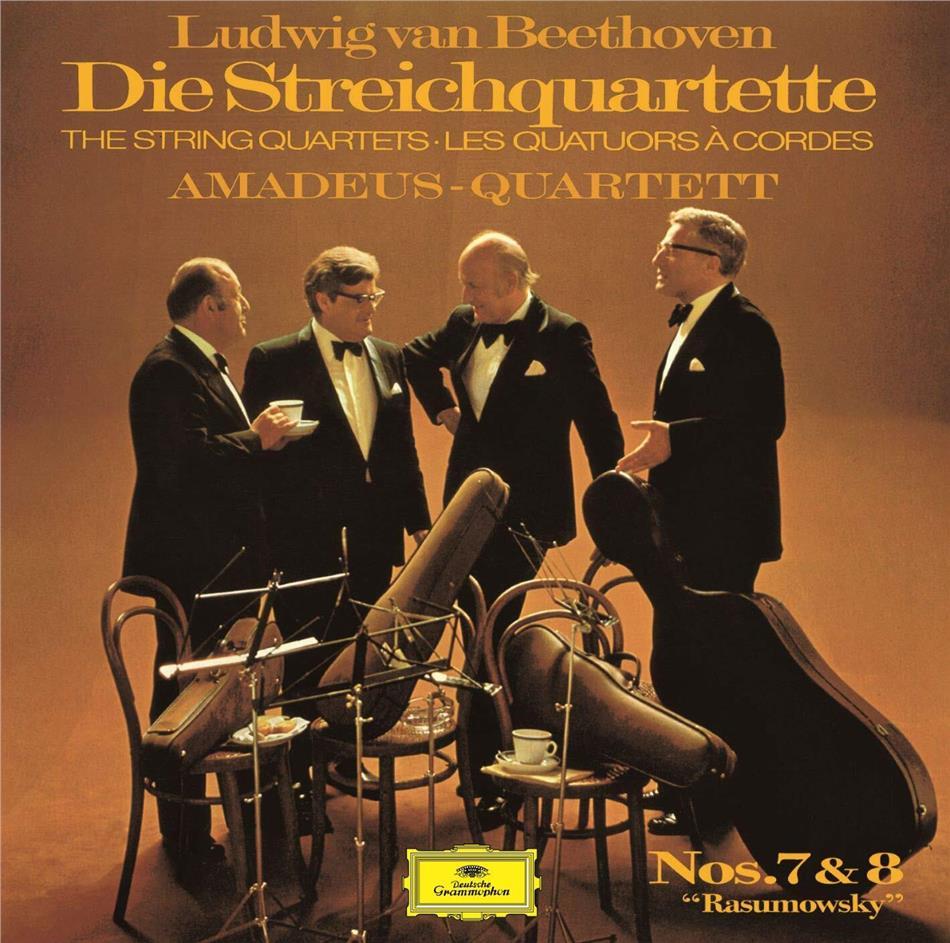 Amadeus Quartet & Ludwig van Beethoven (1770-1827) - String Quartets 7-8 (UHQCD, Limited, Japan Edition, Remastered)