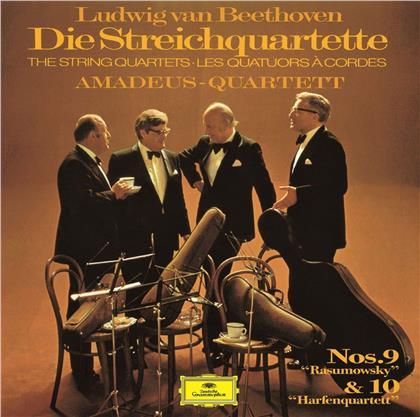 Amadeus Quartet & Ludwig van Beethoven (1770-1827) - String Quartets 9-10 (UHQCD, Limited, Japan Edition, Remastered)