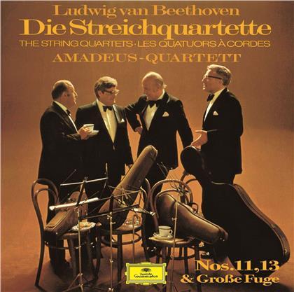 Amadeus Quartet & Ludwig van Beethoven (1770-1827) - String Quartets 11 & 13 (UHQCD, Limited, Japan Edition, Remastered)