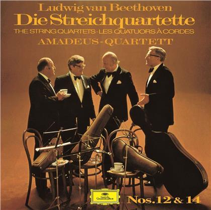 Amadeus Quartet & Ludwig van Beethoven (1770-1827) - String Quartets 12 & 14 (Limited, UHQCD, Japan Edition, Remastered)