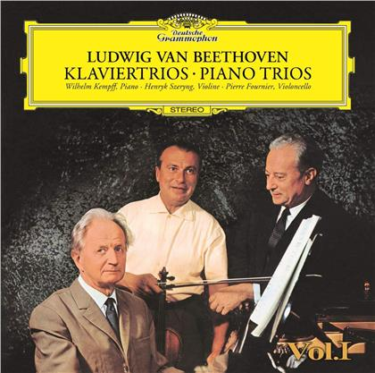 Ludwig van Beethoven (1770-1827), Henryk Szeryng, Pierre Fournier & Wilhelm Kempff - Piano Trios Vol 1 (UHQCD, Limited, Japan Edition, Remastered)