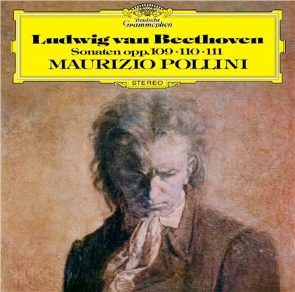 Ludwig van Beethoven (1770-1827) & Maurizio Pollini - Piano Sonatas 30-32 / Op. 109, 110, 111 (UHQCD, Limited, Japan Edition, Remastered)