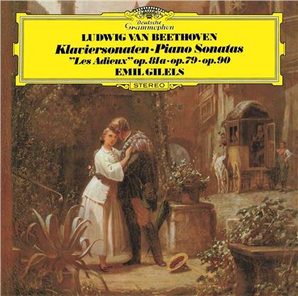 Ludwig van Beethoven (1770-1827) & Emil Gilels - Piano Sonatas 25 & 26 (UHQCD, Limited, Japan Edition, Remastered)