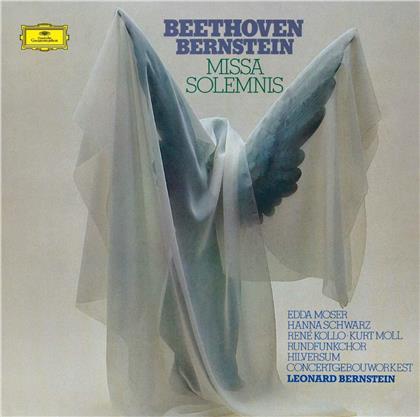 Ludwig van Beethoven (1770-1827), Leonard Bernstein (1918-1990), Edda Moser, Hanna Schwarz, René Kollo, … - Missa Solemnis (UHQCD, Limited, Japan Edition, Remastered)