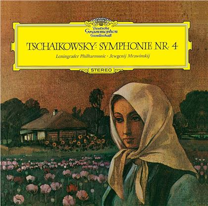Peter Iljitsch Tschaikowsky (1840-1893), Evgeny Mravinsky & Leningrader Philharmoniker - Symphony 4 (Japan Edition, UHQCD, Limited, 24 Bit Remastered)