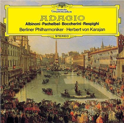 Berliner Philharmoniker, Tomaso Albinoni (1671-1751), Johann Pachelbel (1653-1706), Luigi Boccherini (1743-1805), Ottorino Respighi (1879-1936), … - Adagio (UHQCD, Limited, 24 Bit Remastered, Japan Edition)