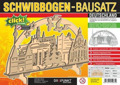 Bausatz Schwibbogen 'Deutschland'