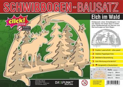 Bausatz Schwibbogen 'Elch'