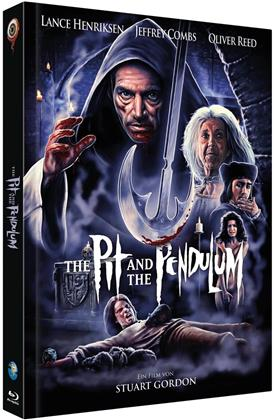 The Pit and the Pendulum (1991) (Cover B, Full Moon Collection, Limited Edition, Mediabook, Blu-ray + CD)