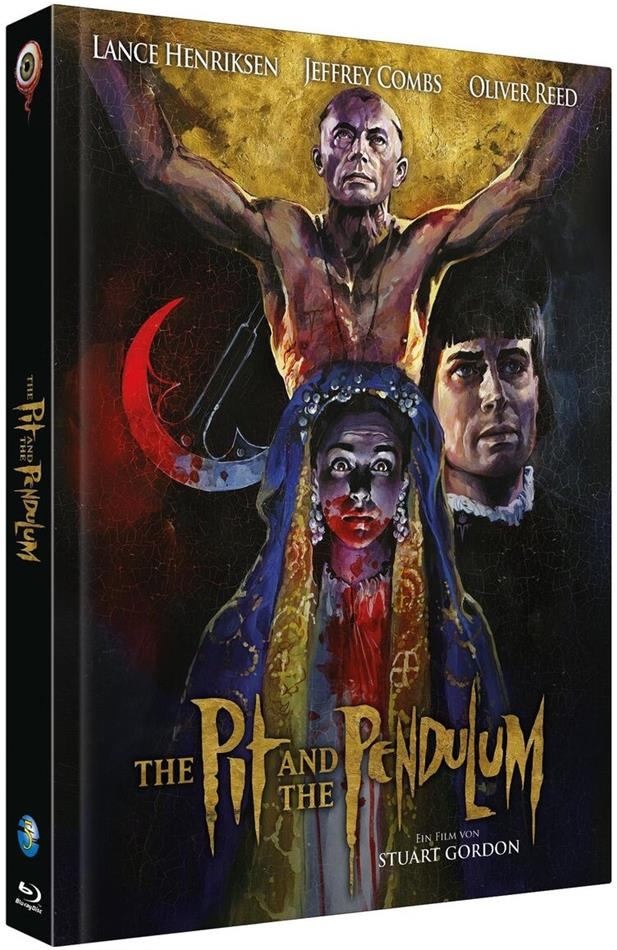 The Pit and the Pendulum (1991) (Cover C, Full Moon Collection, Limited Edition, Mediabook, Blu-ray + CD)