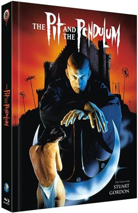 The Pit and the Pendulum (1991) (Cover A, Full Moon Collection, Limited Edition, Mediabook, Blu-ray + CD)