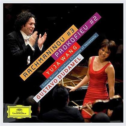 Sergej Rachmaninoff (1873-1943), Serge Prokofieff (1891-1953), Gustavo Dudamel, Yuja Wang & Simon Bolivar Symphony Orchestra Of Venezuela - Rachmaninov: Piano Cto 3 / Prokofiev: Piano Cto 2 (Limited, 24 Bit Remastered, HQCD, Japan Edition)