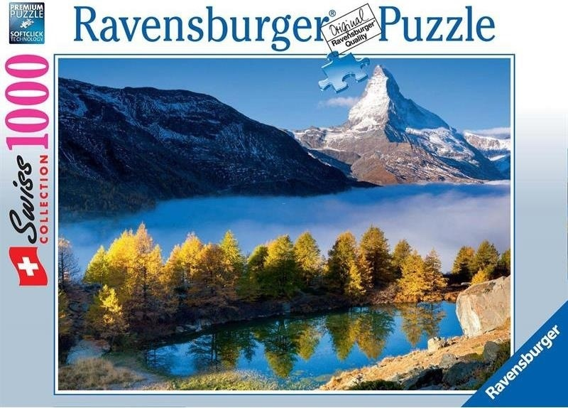Grindjisee mit Matterhorn - 1000 Teile Puzzle
