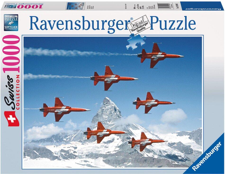 Patrouille Suisse - 1000 Teile Puzzle