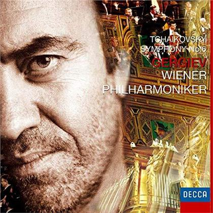 Valery Gergiev, Peter Iljitsch Tschaikowsky (1840-1893) & Wiener Philharmoniker - Symphony No.6 (Japan Edition, UHQCD, Limited, 24 Bit Remastered)