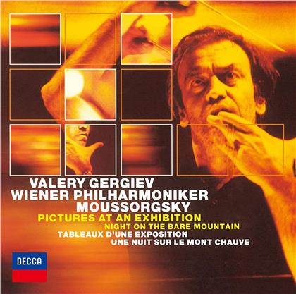 Modest Mussorgsky (1839-1881), Valery Gergiev & Wiener Philharmoniker - Pictures At An Exhibition, Night On The Bare Mountain (Japan Edition, Limited, UHQCD, 24 Bit Remastered)