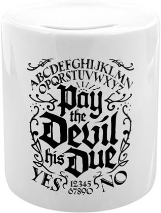 Pay The Devil His Due Ouija Money Box