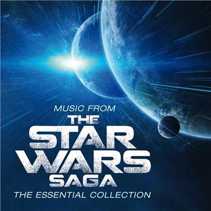Robert Ziegler & John Williams (*1932) (Komponist/Dirigent) - Music From The Star Wars Saga: Essential (Music On Vinyl, 2020 Reissue, Limited, Colored, LP)