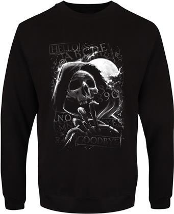 Skull Moon Ouija - Men's Sweatshirt