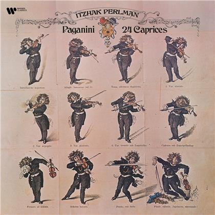 Itzhak Perlman & Niccolo Paganini (1782-1840) - 24 Caprices For Solo (2 LPs)