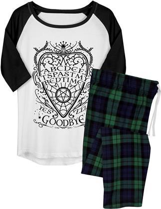Past My Bedtime Ouija - Ladies Long Pyjama Set