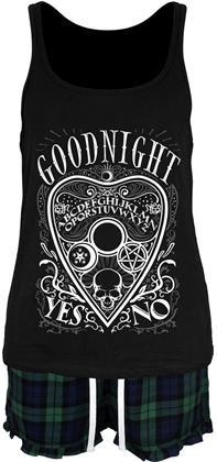 Ouija Goodnight - Ladies Short Pyjama Set