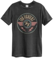 Foo Fighters: FF Air - Amplified Vintage Charcoal T-Shirt